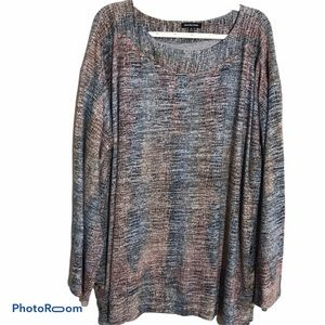Cha Cha Vente Long sleeve soft knot top Size 3X